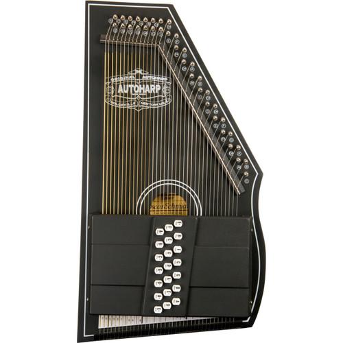 Oscar Schmidt OS73CE 21-Chord 1930's Reissue Electric Autoharp, Black (OS73CE )