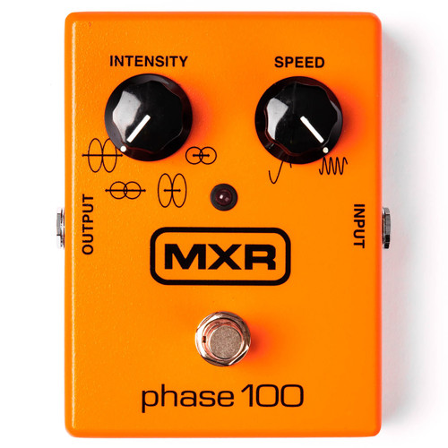 Dunlop MXR M107 Phase 100 Phaser Effects Pedal (MXR-M107)