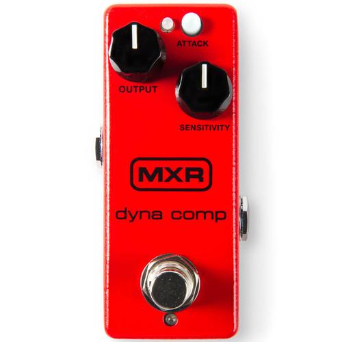 Dunlop MXR M291 Dyna Comp Mini Compressor Guitar Effects Pedal w/ Power Supply