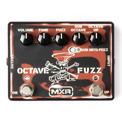 Dunlop MXR SF01 Slash Octave Fuzz Guitar Effects Pedal (MXR-SF01)
