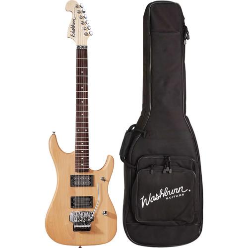 Washburn N2NMK Nuno Bettencourt Electric Guitar w/ Floyd Rose & Gig Bag