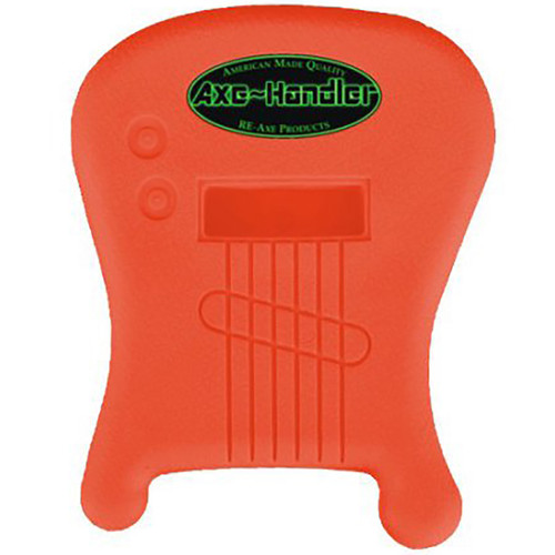 """Axe-Handler """"Strings-In"""" Portable Guitar Stand w/ Pick Holder, Orange (AX-SI-ORG)"""