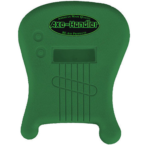 "Axe-Handler ""Strings-In"" Portable Guitar Stand w/ Pick Holder, Green (AX-SI-GRN)"