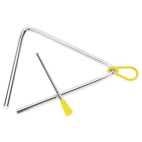 """Grover/Trophy 3505 Hand Percussion 5"""" Triangle with Striker and Holder (GV-3505)"""