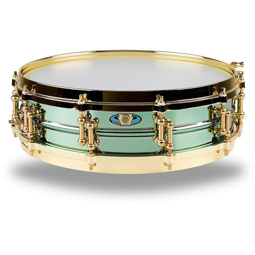 "Ludwig LW0414CP Signature Carl Palmer ""Venus"" Snare Drum, Green"
