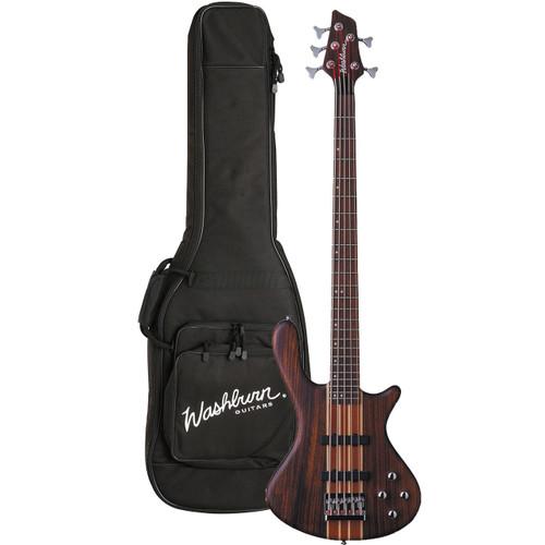 Washburn T25NMK Taurus 5-String Electric Bass Guitar w/ Gig Bag