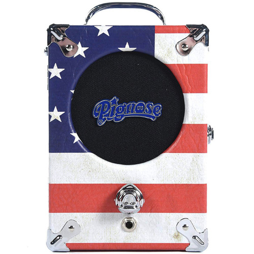 Pignose 1776 Old Glory Special Ltd Edition Portable Guitar Amplifier, USA Flag