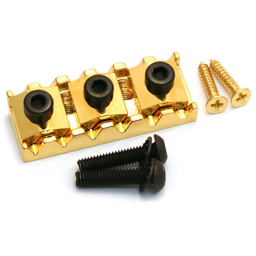 Floyd Rose FRNR3GP Locking Nut R3 for Original Tremolo Systems, Gold