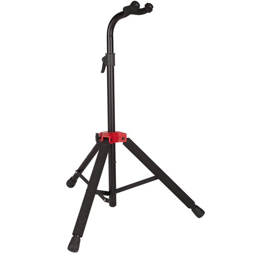 Fender Deluxe Hanging Guitar Stand, Black/Red (0991803000) (099-1803-000)