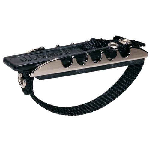 Dunlop 11F Advanced Toggle Capo for Flat Fretboard Guitars, Nickel
