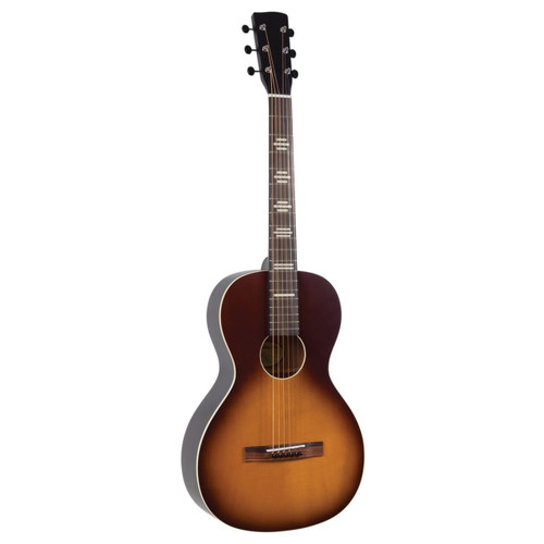 Recording King RPH-P2-TS Dirty 30s Cross Country Parlor Acoustic Guitar, Tobacco Sunburst