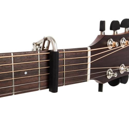 Shubb C1N Standard Capo for Steel String Guitars, Brushed Nickel (SH-C1N)