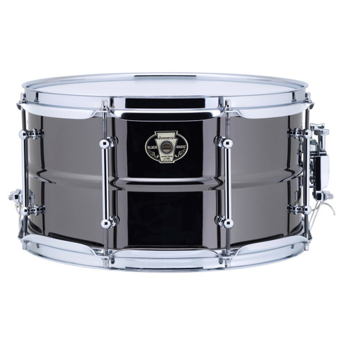 """Ludwig LW0713C Black Magic 7""""x 13"""" Brass Snare Drum, Chrome Hoops and Tube Lugs (LW0713C)"""