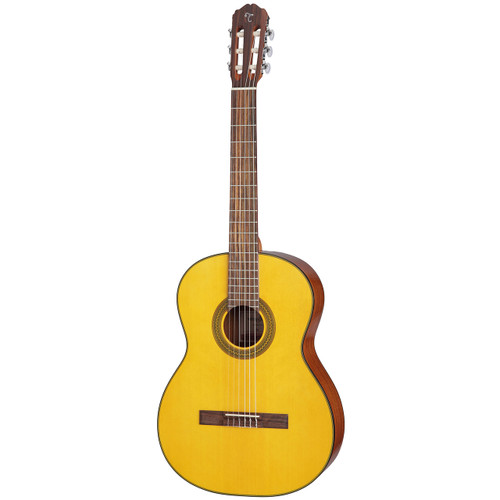 Takamine GC1LH-NAT Nylon String Left-Handed Classical Guitar, Natural