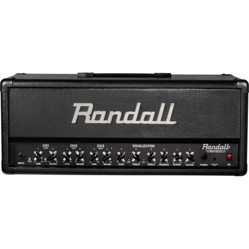 Randall RG1503H 3-Channel 150 Watt Guitar Amplifier Head