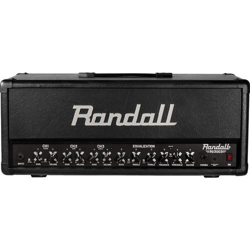 Randall RG3003H 3-Channel 300-Watt Guitar Amplifier Head