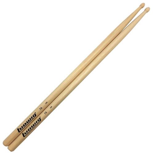 Ludwig 7A Wood Tip Olive Bead Drumsticks