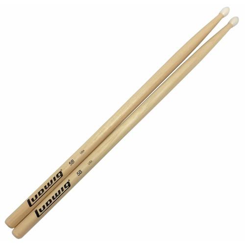 Ludwig 5B Nylon Tip Acorn Bead Drumsticks