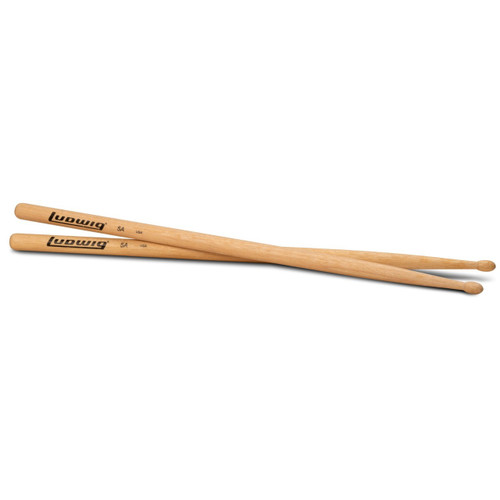 Ludwig 5A Wood Tip Olive Bead Drumsticks