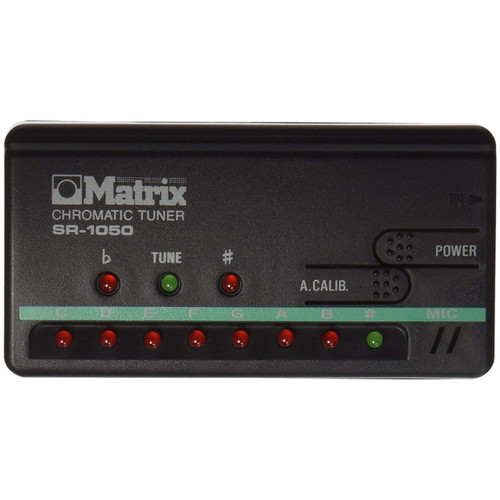 Matrix SR-1050 Chromatic All Instrument Tuner
