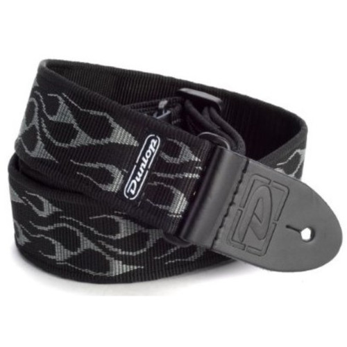 Dunlop D38-11GY Classic Flambe Gray Guitar Strap