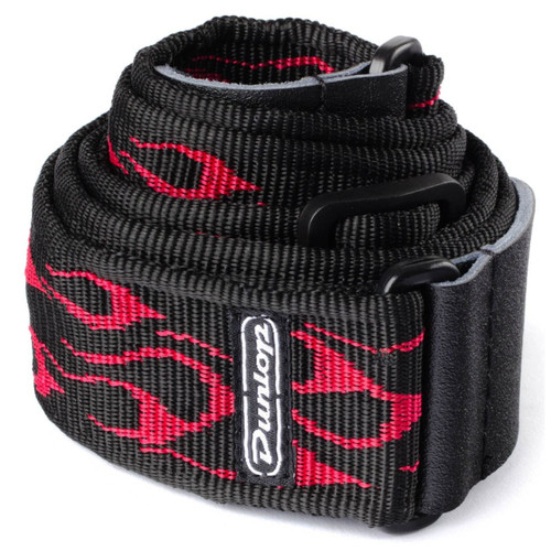 Dunlop D38-11RD Classic Flambe Red Guitar Strap