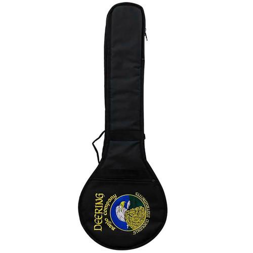 Deering Vintage Eagle Padded Gig Bag for Resonator Banjo, Black (GDT-BAG-RVE)