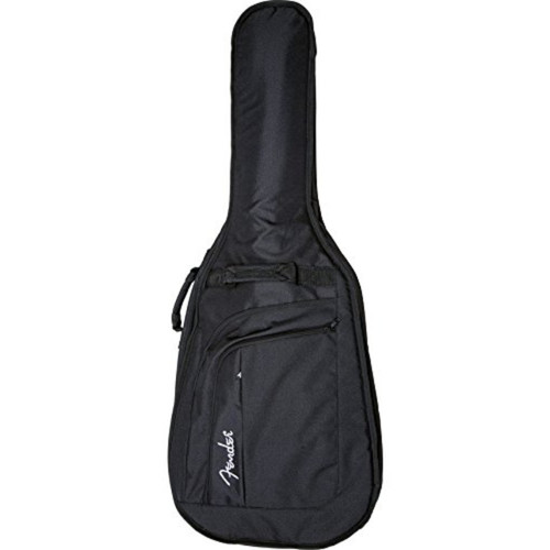 Fender Urban Long Scale Acoustic Bass Guitar Gig Bag, Black (099-1535-106)