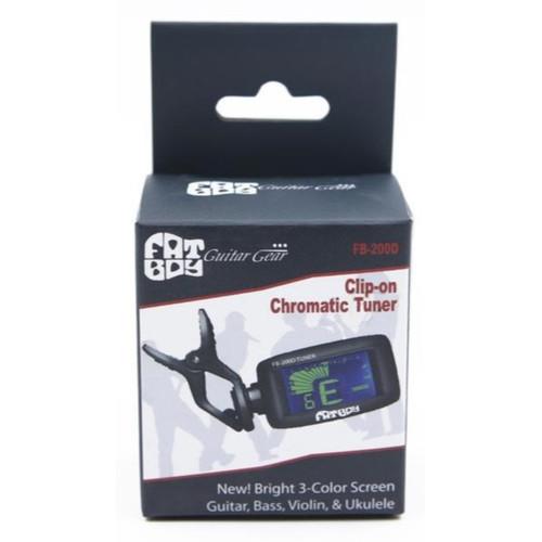 Fat Boy FB-200D Clip-On Instrument Tuner