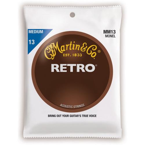 Martin MM13 Retro Monel Acoustic Guitar Strings- Medium .013-.056