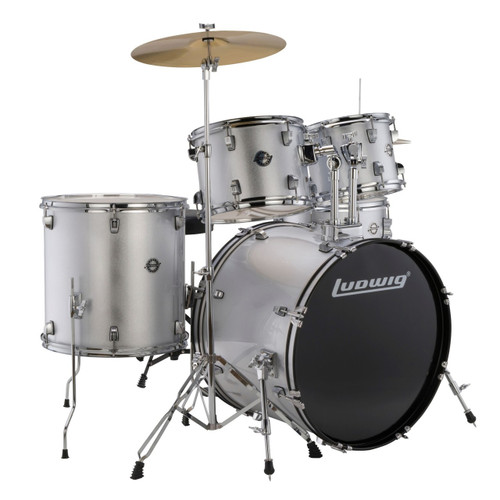 NEW Ludwig Classic Curved Disappearing Bass Drum Spurs /& Brackets #LC1308SP