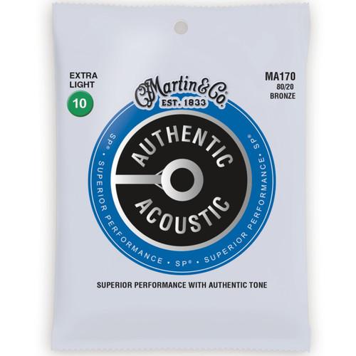 Martin MA170 Acoustic SP 80/20 Bronze Guitar Strings - Extra Light 10-47