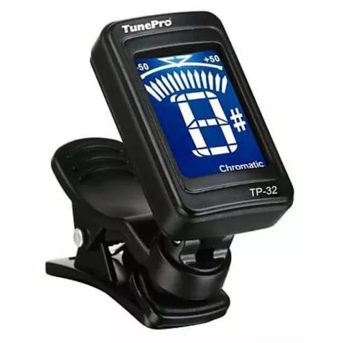 TunePro TP-32 Clip-On Chromatic Tuner