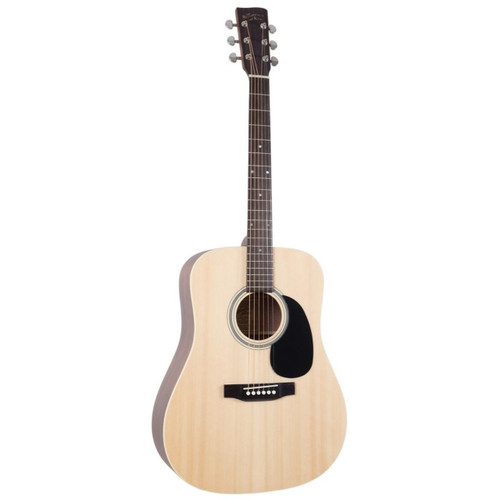 Recording King RD-M9M All Solid Dreadnought Acoustic Guitar, Natural