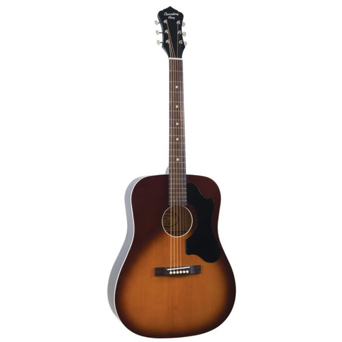 Recording King RDS-9-TS Dirty 30s Series 9 Dreadnought Acoustic Guitar, Tobacco Sunburst