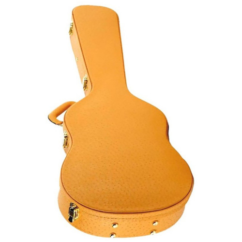 Fat Boy DO600 Faux Ostrich Skin Hardshell Dreadnought Guitar Case