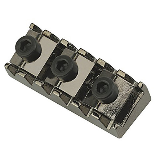 Floyd Rose R3 Locking Nut for Original Tremolo Systems, Ruthenium (Black Nickel), FRNR3BNP