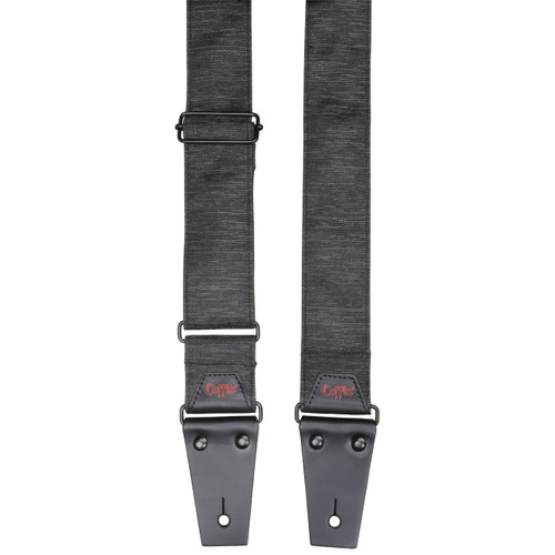 Coffin CFS-PLBRR The Pallbearer Guitar Strap, Heather Gray