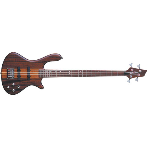 Washburn T24NMK Taurus 4-String Electric Bass Guitar, Natural Matte