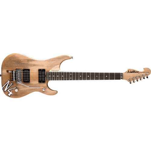 Washburn N4 Authentic Nuno Bettencourt Double Cutaway Electric Guitar, Distressed Matte