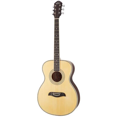 Oscar Schmidt OF2 Folk Style Acoustic Guitar, Natural