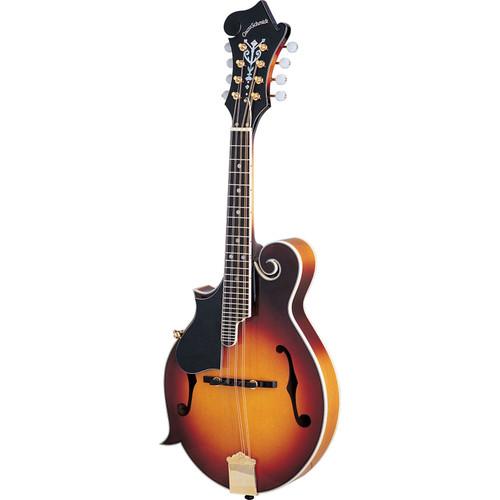 Oscar Schmidt OM40LH Left-Handed F-Style Acoustic Mandolin, Tobacco Sunburst (OM40LH)