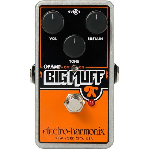 Electro-Harmonix Op-Amp Big Muff Pi Fuzz Pedal (OPAMPBM)