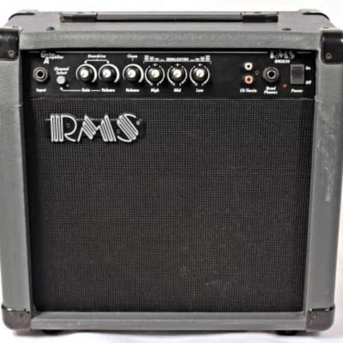 """RMS G40 Guitar Combo Amplifier, 40-Watt with 10"""" Speaker"""