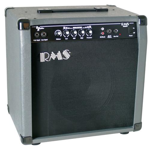 "RMS B40 Bass Guitar Combo Amplifier, 40-Watt with 10"" Speaker"