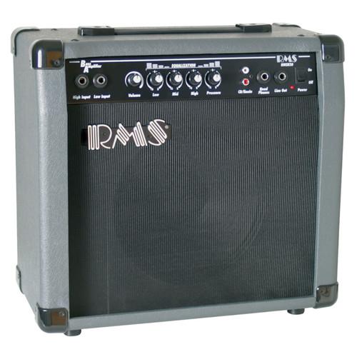 "RMS B20 Bass Guitar Combo Amplifier, 20-Watt with 8"" Speaker"