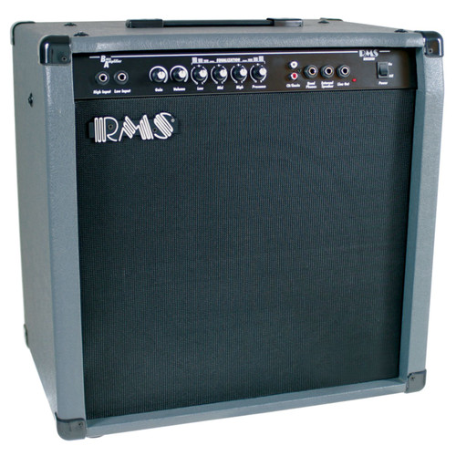 "RMS B80 Bass Guitar Combo Amplifier, 80-Watt with 12"" Speaker"