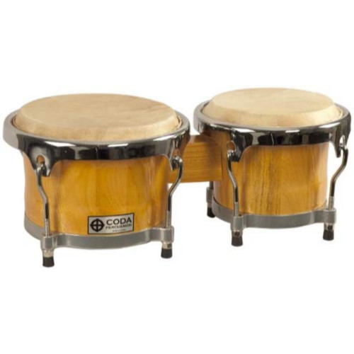 Coda DP-220 Contour Rhythm Bongos, Natural