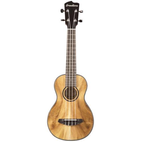 Breedlove Lu'au Concert Size Myrtlewood Acoustic Ukulele, Natural