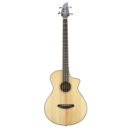 Breedlove Pursuit Concert CE Acoustic Electric Bass Guitar, Natural